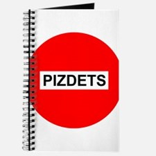 Pizdetz Russian Stop Sign Symbol Pizdez Pi Journal