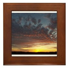 Summer Sky Framed Tile