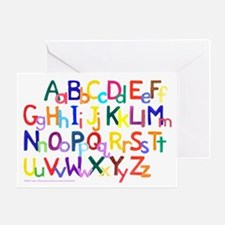 Alphabet Gift Card