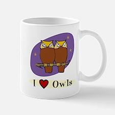 Owl Mug: I [heart] Owls
