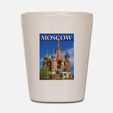 Moscow Kremlin Saint Basil's Cathedral Shot Glass
