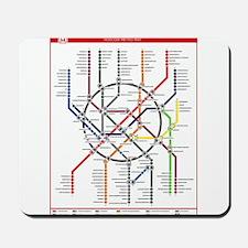 Moscow Metro Mousepad