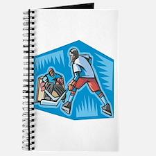 Hockey Player & Goalie Journal