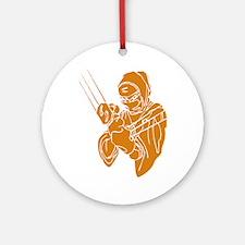 Ninja Shinobi Secret Agent Feudal Ornament (Round)
