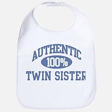 Authentic Twin Sister Bib
