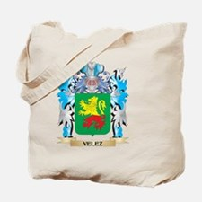 Velez Coat of Arms - Family Crest Tote Bag