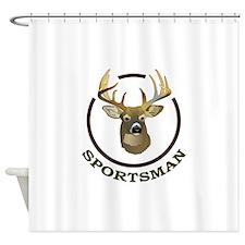 SPORTSMAN Shower Curtain