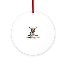 Cute Chihuahua Round Ornament