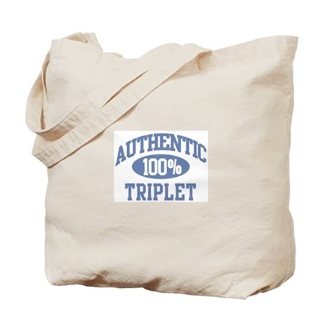 Authentic Triplet Tote Bag