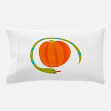 SNAKE AND PUMPKIN Pillow Case