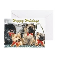 Cairn Terrier Season's Greeting Card