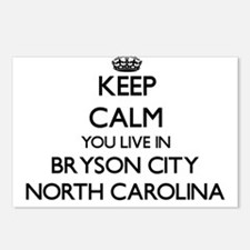 Keep calm you live in Bry Postcards (Package of 8)