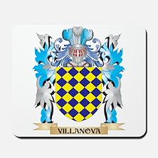 Villanova Coat of Arms - Family Crest Mousepad