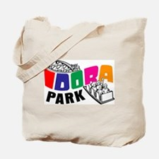 Idora Park Color Rollercoaster Tote Bag