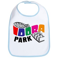 Idora Park Color Rollercoaster Bib