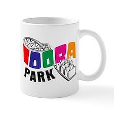 Idora Park Color Rollercoaster Mug