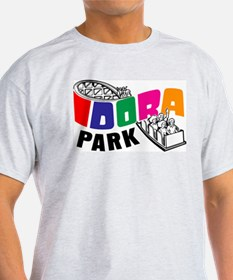 Idora Park Color Rollercoaster T-Shirt