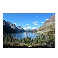 Rocky Mountains, Alberta, Postcards (Package of 8)