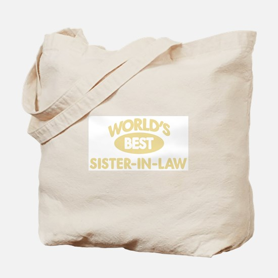 Worlds Best SISTER-IN-LAW Tote Bag
