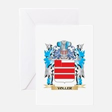 Voller Coat of Arms - Family Crest Greeting Cards