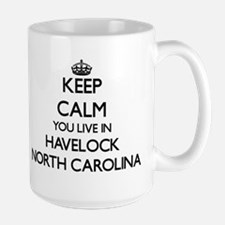 Keep calm you live in Havelock North Carolina Mugs