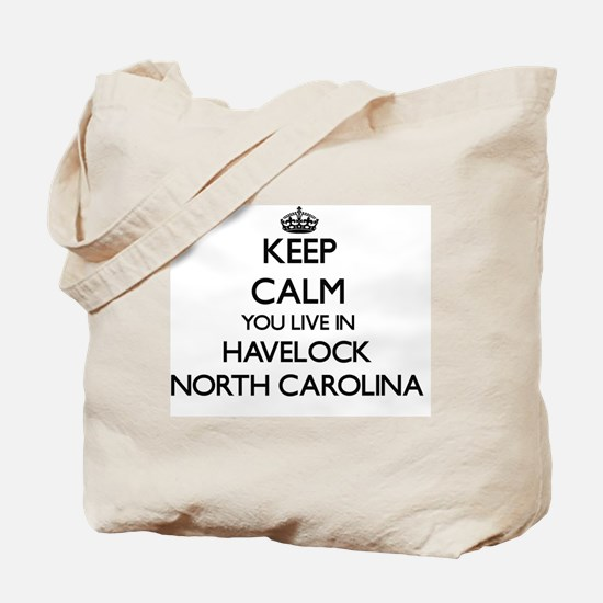 Keep calm you live in Havelock North Caro Tote Bag