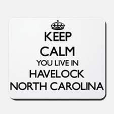 Keep calm you live in Havelock North Car Mousepad