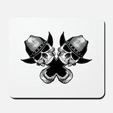 Cowboy Skulls Mousepad