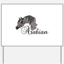 ARABIAN HORSE Yard Sign