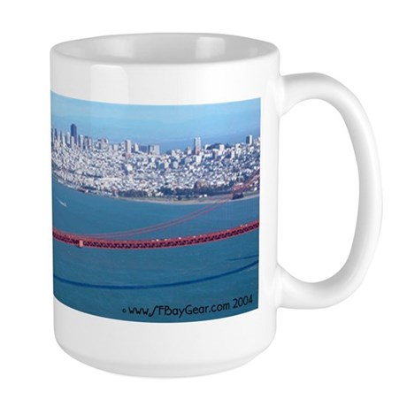 Golden Gate Bridge SF Large Coffee Mug Gifts