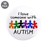 Autism awareness 10 Pack