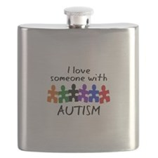 I LOVE SOMEONE WITH AUTISM Flask