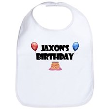Jaxon's Birthday Bib