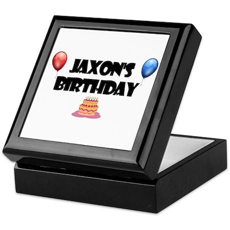 Jaxon's Birthday Keepsake Box