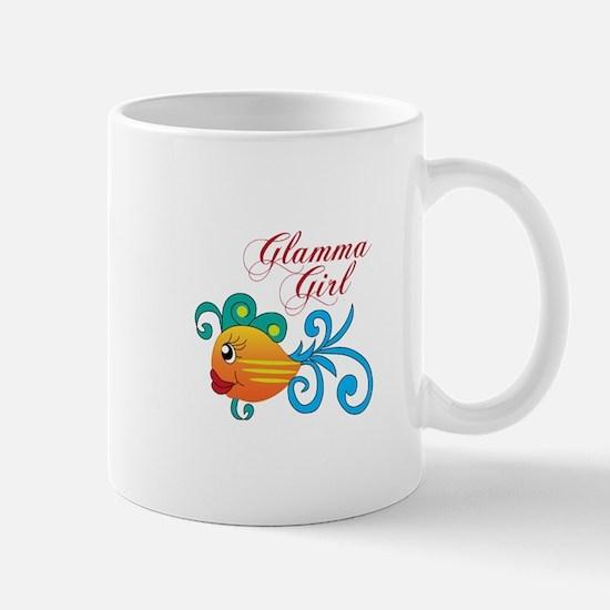 GLAMMA GIRL FISH Mugs