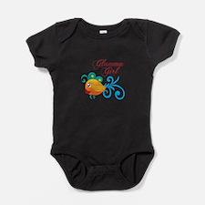 GLAMMA GIRL FISH Baby Bodysuit