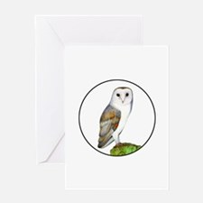Barn Owl Clothes Accessories and Jewellery Greetin
