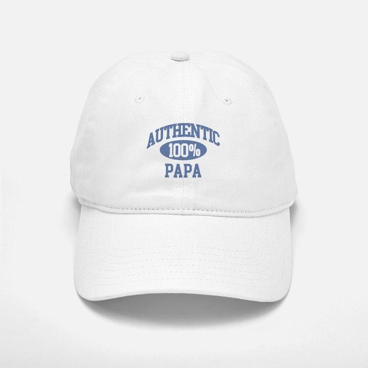 Authentic Papa Baseball Baseball Cap