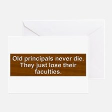Old Principals 2 Greeting Card
