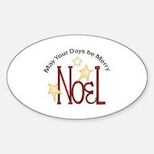 MERRY NOEL Decal