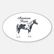 AMERICAN PAINT HORSE Decal