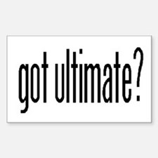 Got Ultimate? Rectangle Decal