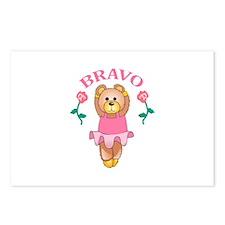BRAVO BALLET DANCER Postcards (Package of 8)