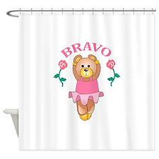 BRAVO BALLET DANCER Shower Curtain