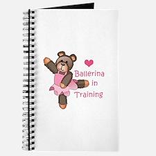 BALLERINA IN TRAINING Journal