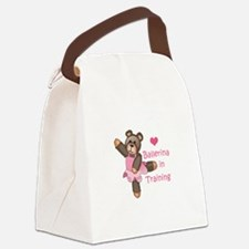 BALLERINA IN TRAINING Canvas Lunch Bag