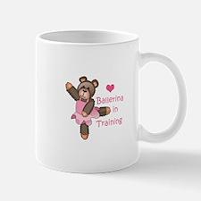 BALLERINA IN TRAINING Mugs