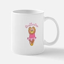 BALLERINA BEAR Mugs