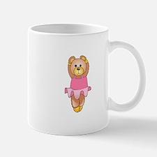 TEDDY BEAR BALLERINA Mugs