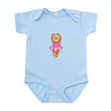 TEDDY BEAR BALLERINA Body Suit